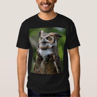 Hibou à cornes t-shirt