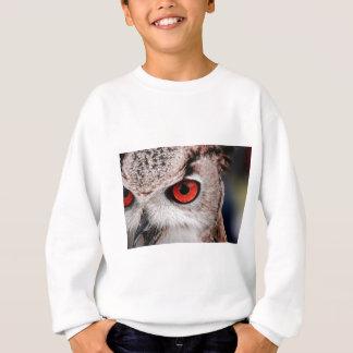 Hibou aux yeux rouges sweatshirt