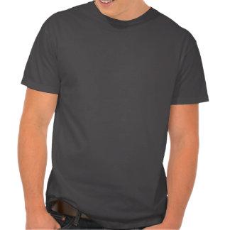 Hibou avec la moustache et le chapeau t-shirt