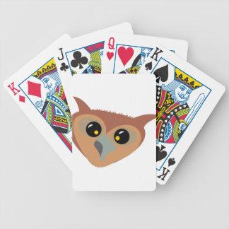 Hibou bigleux jeu de cartes