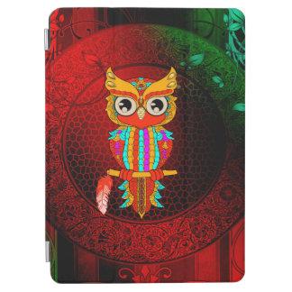 Hibou coloré mignon protection iPad pro