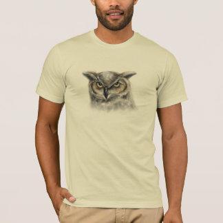 hibou - customisé t-shirt