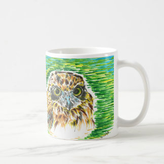 Hibou de Brown Mug