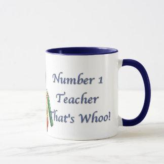 Hibou de chercheur - tasse de professeur du numéro
