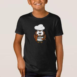 Hibou de cuisinier de BBQ T-Shirt
