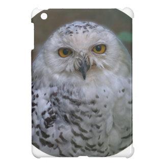 Hibou de Milou, Schnee-Eule 02_rd Coques Pour iPad Mini