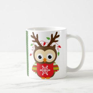 Hibou de Noël Mug