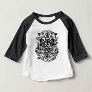 Hibou de tribal de tatouage t-shirt pour bébé