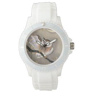 Hibou grincheux montre
