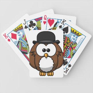 hibou jeu de cartes