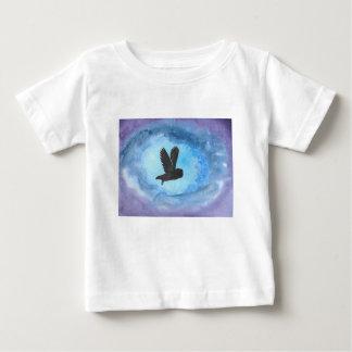 Hibou la nuit t-shirt pour bébé