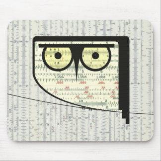 Hibou métrique Mousepad Tapis De Souris