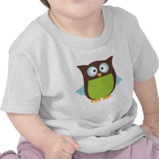 Hibou mignon t-shirts