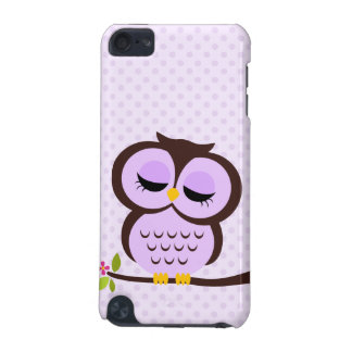 Hibou pourpre coque iPod touch 5G