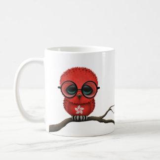 Hibou ringard personnalisable de bébé de Hong Kong Mug