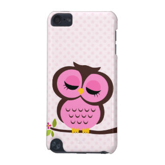 Hibou rose coque iPod touch 5G