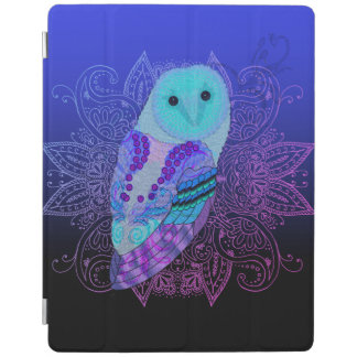 Hibou tourbillonnant protection iPad