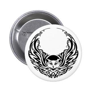 Hibou tribal badge