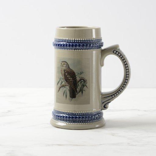Hibou vintage Stein Tasse