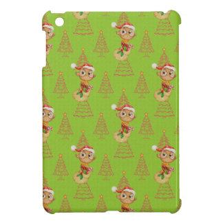 Hiboux et arbres verts de Noël Coques Pour iPad Mini