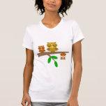 hiboux mignons et drôles t-shirt