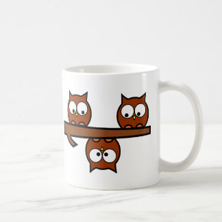 Hiboux originaux mug