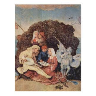 Hieronymus Bosch- Haywain (détail) Carte Postale