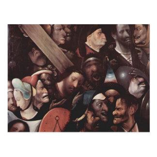 Hieronymus Bosch- le transport de la croix Carte Postale