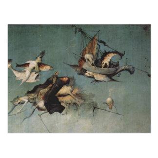 Hieronymus Bosch peignant l'art Carte Postale