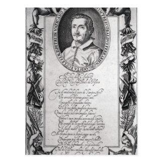 Hieronymus Frescobaldi, gravé par le chrétien Carte Postale