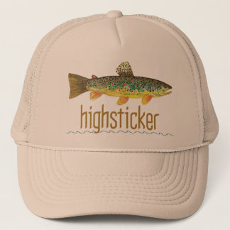 Highsticker - pêche de mouche casquette