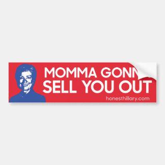 Hillary allant vous vendre autocollant de voiture