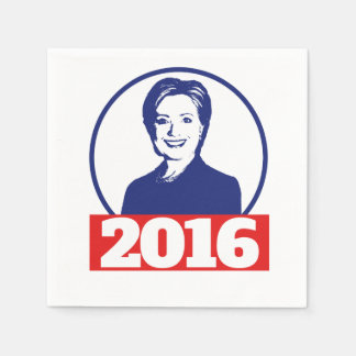 Hillary Clinton 2016 Serviettes En Papier