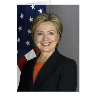 Hillary Clinton Carte De Vœux