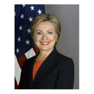 Hillary Clinton Carte Postale