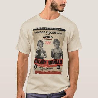 Hillary Clinton contre le T-shirt de Donald Trump