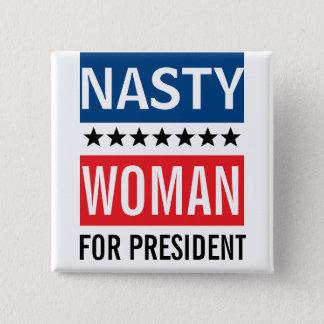 Hillary Clinton pour la femme méchante du Pin's