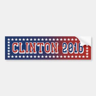 Hillary Clinton pour le président adhésif pour par Adhésif Pour Voiture