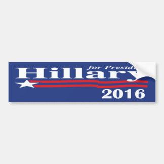 Hillary Clinton pour le président adhésif pour par Adhésifs Pour Voiture