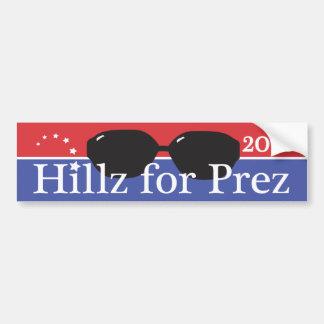 Hillary pour le président 2016 autocollant de voiture