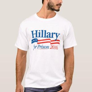 Hillary pour le T-shirt 2016 de prison