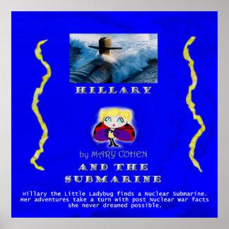 HillaryandtheSubmarinePoster24x24 Poster