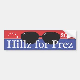 Hillz pour Prez Autocollant De Voiture