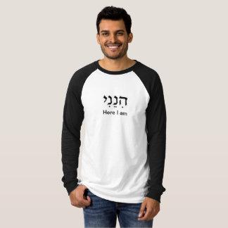 Hineini, ici je suis t-shirt