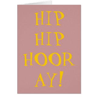 HIP HIP HOURRA CARTES