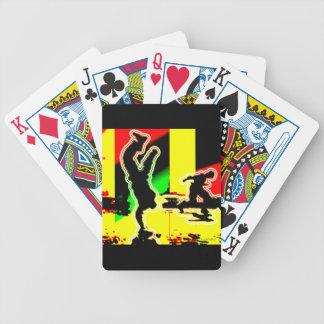 Hip hop de danse de rue cartes à jouer