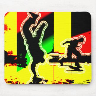 Hip hop de danse de rue tapis de souris