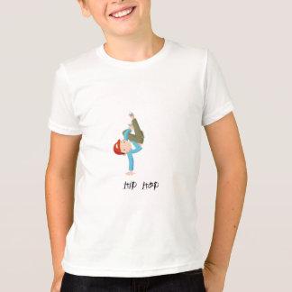 Hip hop de garçons de danse t-shirt