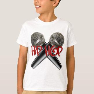 Hip hop - le coup sec et dur DJ de mètre-bougie T-shirt