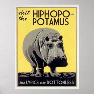 hiphopapotamus de hiphopopotamus rhymenocerous poster